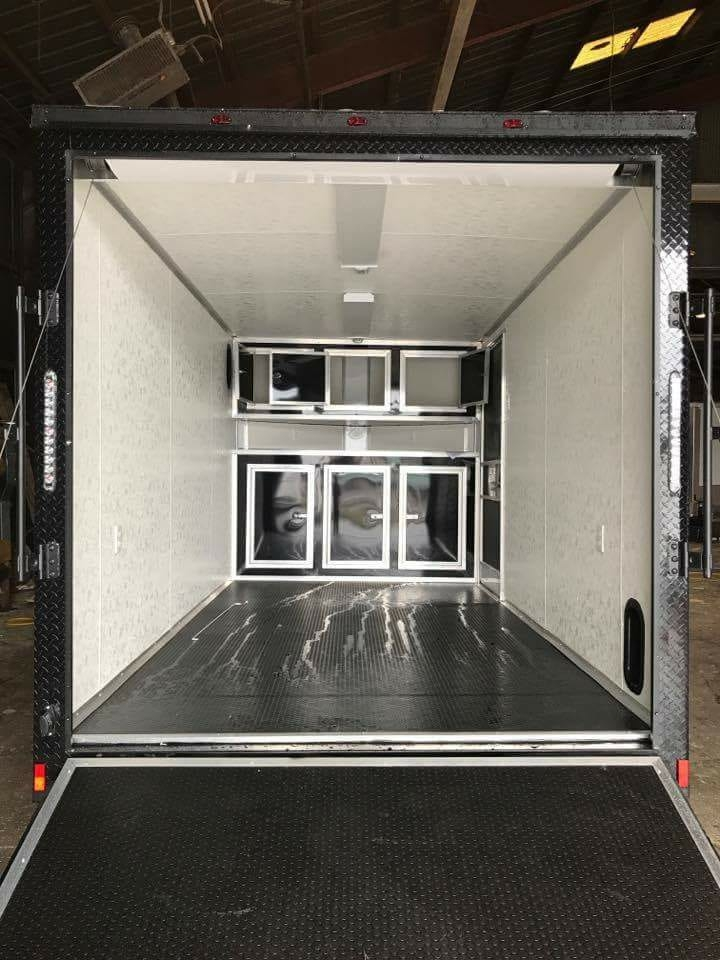 Enclosed Food Trucks