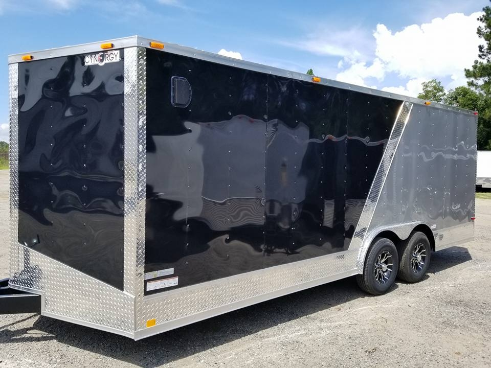 Two-Tone Cynergy Enclosed Trailer