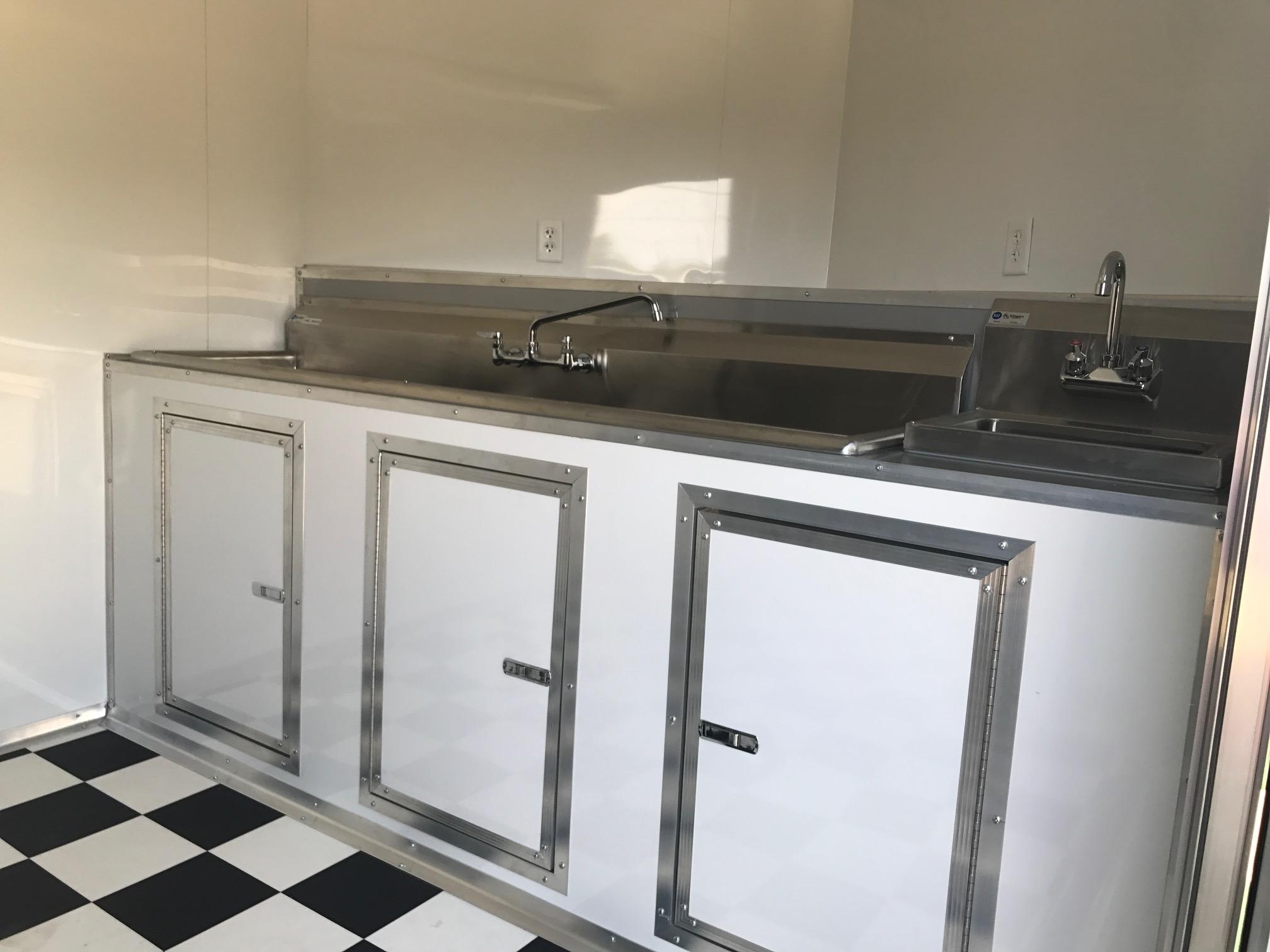 Enclosed Trailer Food Truck