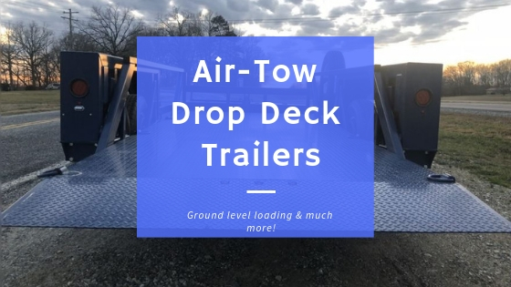 Air Tow Drop Deck Trailer Overview