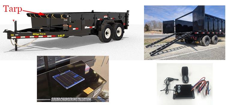 dump trailer customization