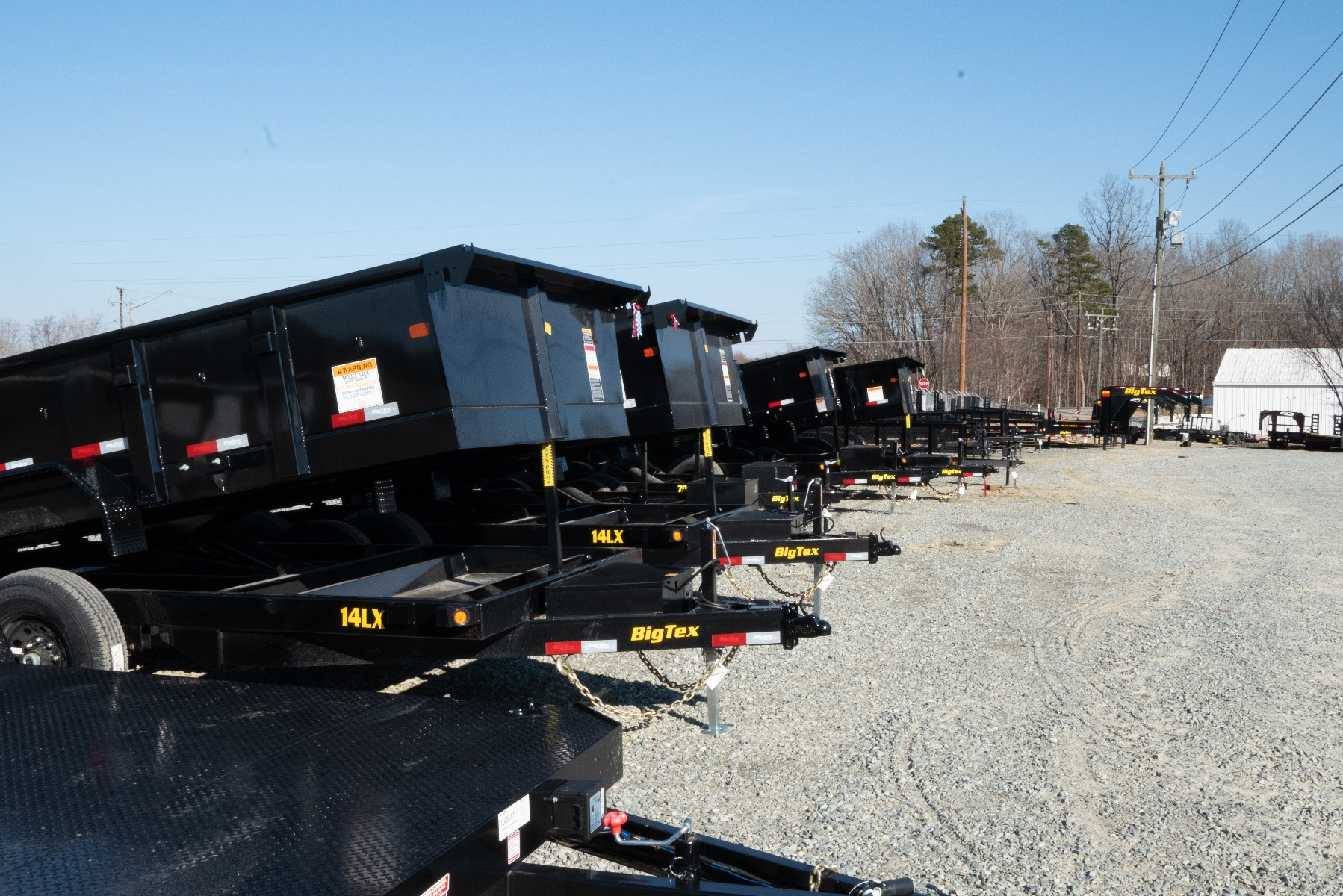 The difference in Basic Grade Dump Trailers and Heavy Duty Grade Dump Trailers