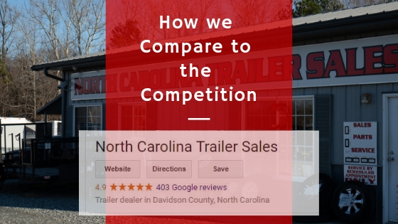 How We Compare To The Competition