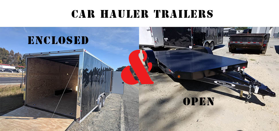 Open and Enclosed Car Hauler Trailer Buying Guide